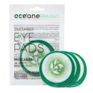 Máscara de pepino para olhos - Oceane