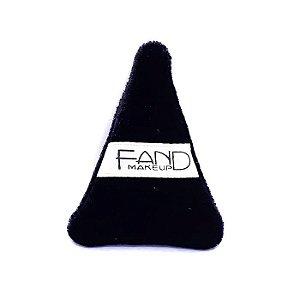 Mini esponja triangulo de veludo - Fand