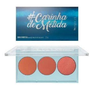 Paleta de blush #CarinhaDeMetida - Boca Rosa Beauty