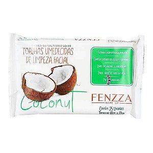 Lenço demaquilante Coconut - Fenzza