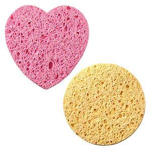 Kit de esponjas para limpeza facial EJ1-20 - Macrilan