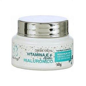 Creme facial vitamina E + ácido hialurônico - Belle Angel