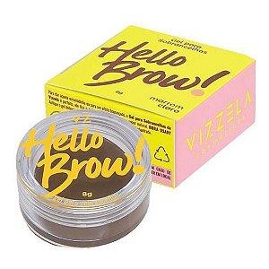 Gel para Sobrancelhas Hello Brow! - Vizzela