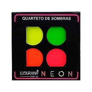 Quarteto de sombras Neon - Ludurana