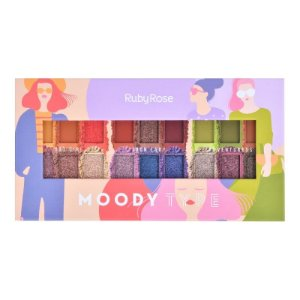 Paleta de Sombras Moody Type - Ruby Rose