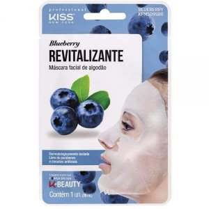 Máscara Facial Blueberry - Kiss New York