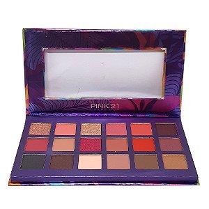 Paleta de sombras Exotic - Pink 21