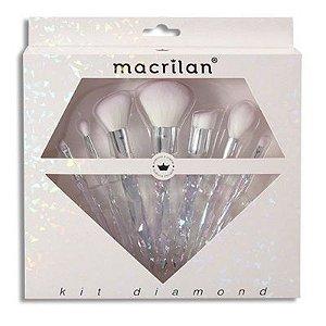 Kit de pincéis Diamond ED003 - Macrilan