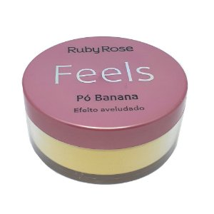 Pó facial Banana Feels - Ruby Rose