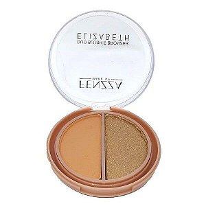 Duo Blush e Bronzer Elizabeth - Fenzza