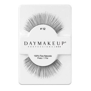 Cílios postiços modelo #12 - Day Makeup