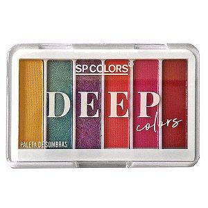 Paleta de Sombras Deep Colors cor A - SP Colors