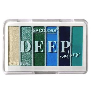Paleta de Sombras Deep Colors cor B - SP Colors