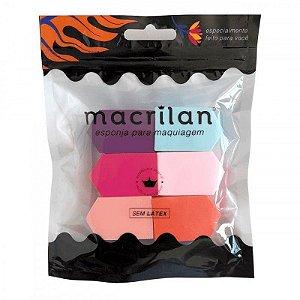 Esponja para maquiagem EP04 - Macrilan