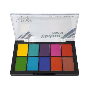 Paleta de Sombras 10 cores Urban Colors A - City Girls