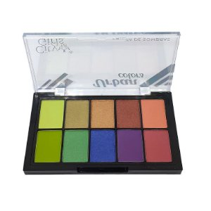 Paleta de Sombras 10 cores  Urban Colors B - City Girls