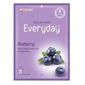 Máscara facial Everyday Blueberry - SP Colors