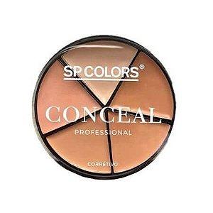Paleta 5 cores de corretivos - SP Colors