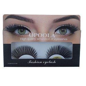 Caixa de cílios postiços Fashion Eyelash - Opoola