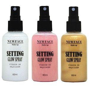 Fixador de maquiagem Setting Glow - Newface