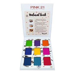 Paleta de sombras Natural Look 1 - Pink 21
