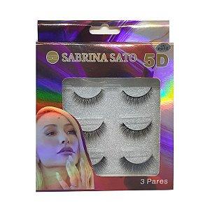 Caixa 3 cílios postiços magnético - Sabrina Sato
