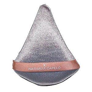 Esponja triangular de veludo - Nath Capelo