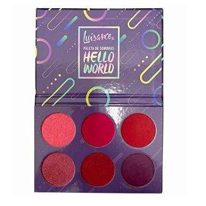 Paleta de sombras Hello World - Luisance