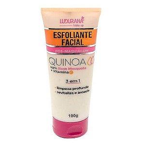 Esfoliante facial Quinoa com Rosa Mosqueta - Ludurana