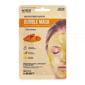 Máscara de bolhas desestressante Cúrcuma - RK by Kiss