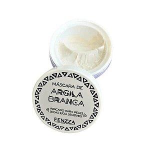 Máscara de argila branca - Fenzza