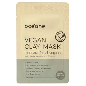 Máscara facial Vegan Clay Mask - Oceane