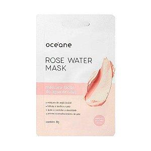 Máscara facial de água de rosas - Oceane