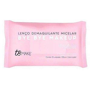 Lenço demaquilante Bye Bye Makeup - TB Make