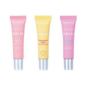 Hidratante labial Glossy Balm - Ruby Rose
