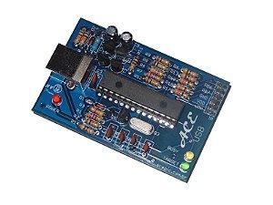 Gravador para microcontroladores PIC ACE USB Mini