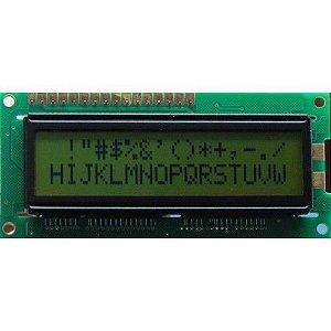 Display LCD 16X2 Fundo Verde - AGM-1602F-403