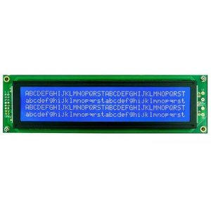 Display LCD 40X4 Fundo Azul e Backlight - AGM-4004B-801