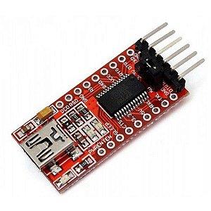 Placa FTDI FT232RL Conversor USB Serial