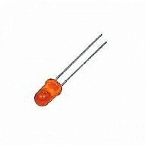 Led Difuso Vermelho 5mm - Pacote com 10 unidades