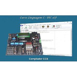 Curso CCS Mód. I (PIC16F) + Kit ACEPIC PRO V5.0 + Gravador ACE USB Mini