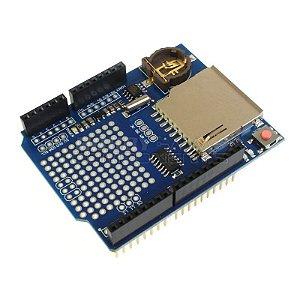 Shield Data Logger para Arduino + RTC DS1307