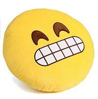 Almofada Emoticon Emoji Oficial Antialérgica Cara de Pau 33cm