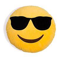 Almofada Emoticon Emoji Oficial Antialérgica Oculos de Sol