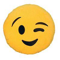 Almofada Emoticon Emoji Oficial Antialérgica Piscadinha