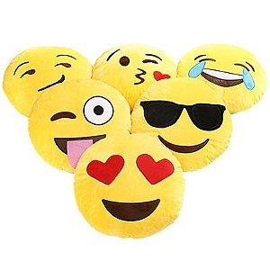Kit 2 Almofadas Emoji Oficial Antialérgica 33cm