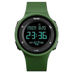 Relógio Sport Skmei Digital 1445 Prova D'água Verde Militar