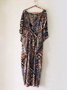 Vestido-Túnica Longo