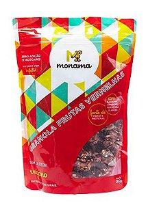 Granola Monama Frutas Vermelhas Sem Glúten Sem Açúcar 200g