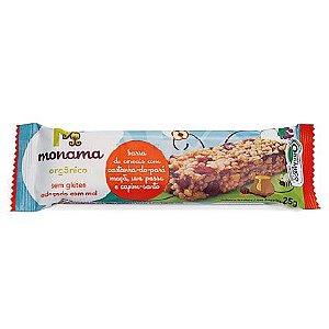 Barra de Cereal Monama sabor Castanha do Pará 25g